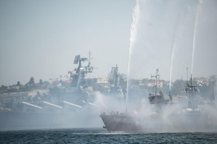 День черноморского флота Севастополь