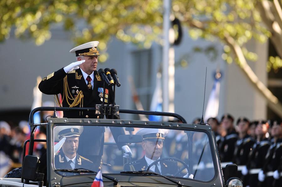 парад в Крыму 9 мая