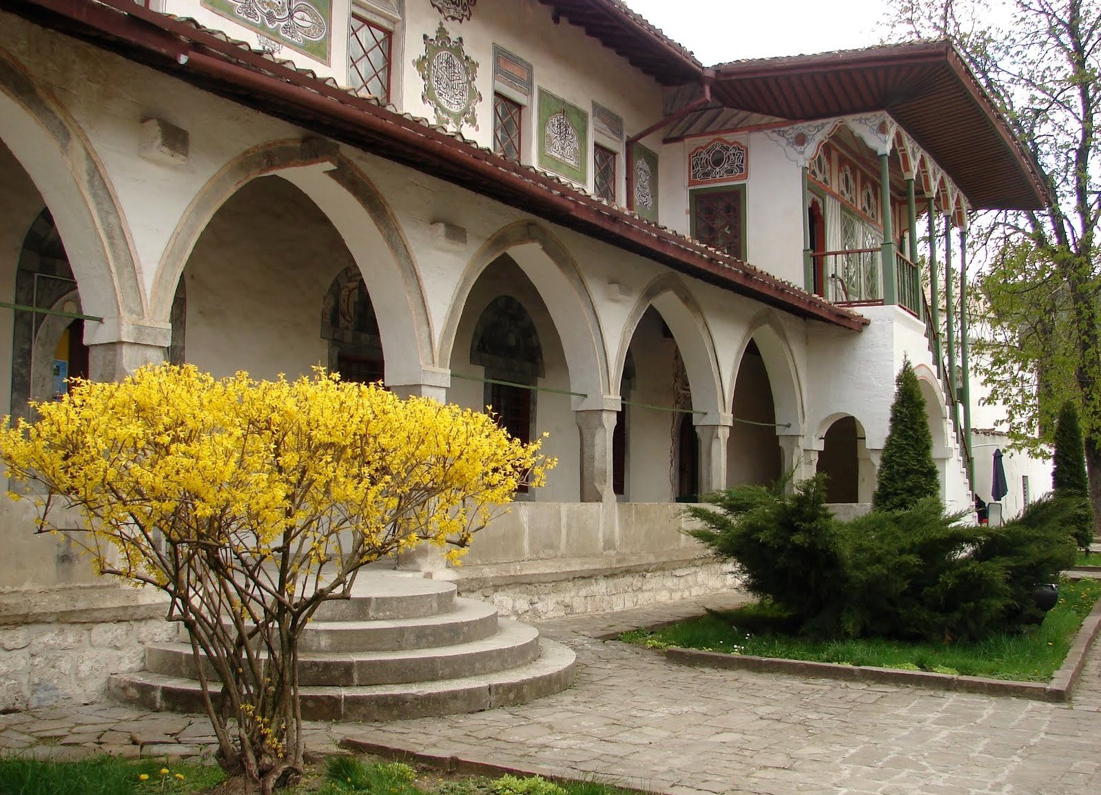 ханский дворец бахчисарае фото