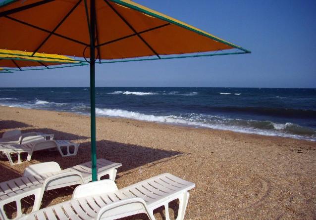 песчаные пляжи крыма