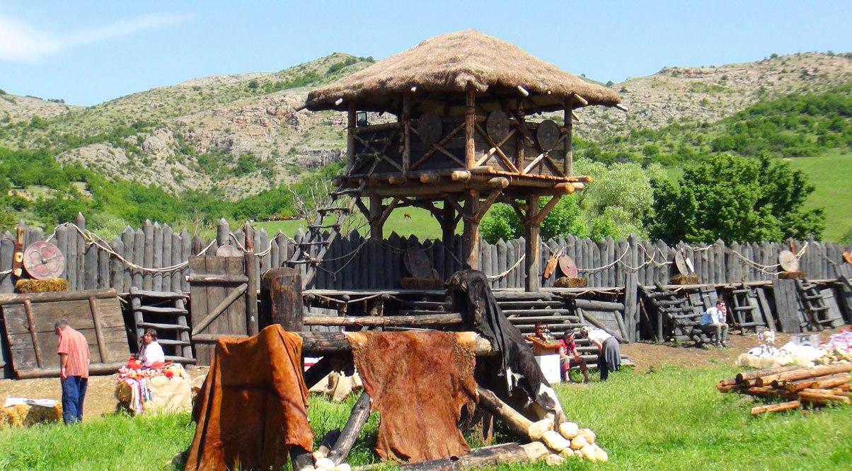 парк викингов в крыму