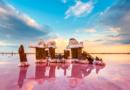 Розовое Кояшское озеро в Крыму: пейзажи, от которых завораживает дух
