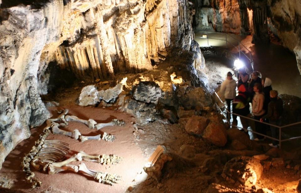 мраморная пещера крыму