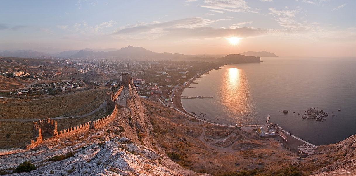 Крым, Судак - любимое место