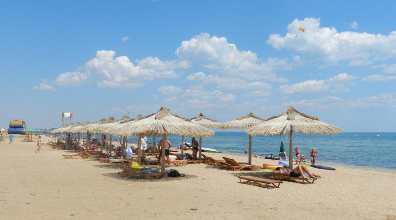 песчаным пляжам крыму