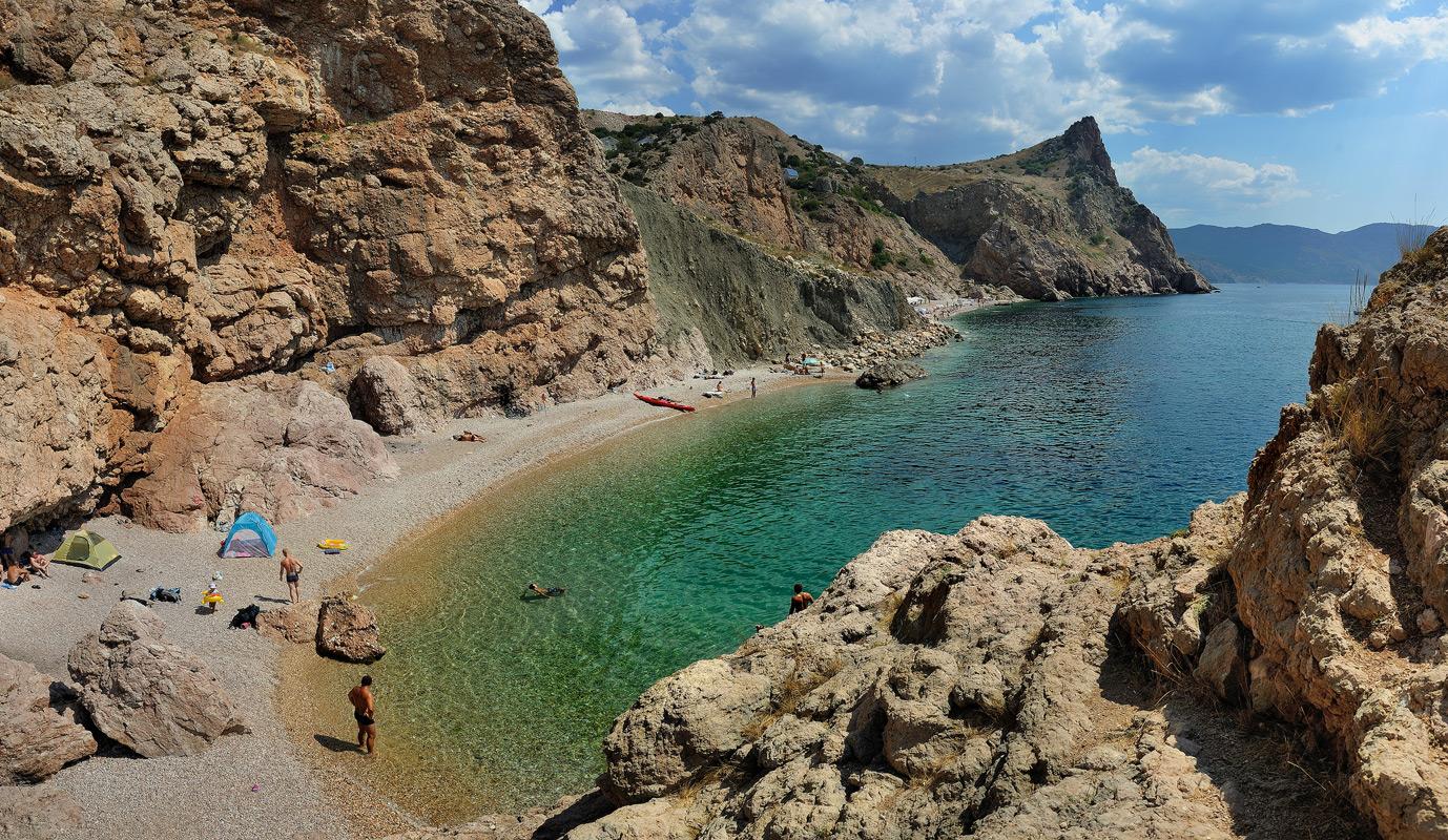 Где лучшие пляжи в крыму фото