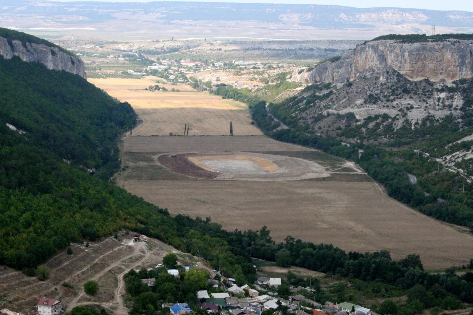 бельбекский каньон крым