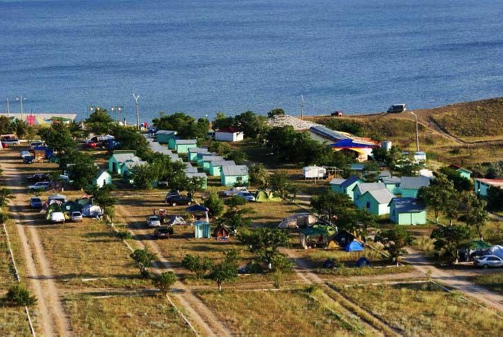 дикий отдых в Крыму в 2016