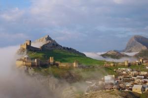 Генуэзская крепость в Крыму фото