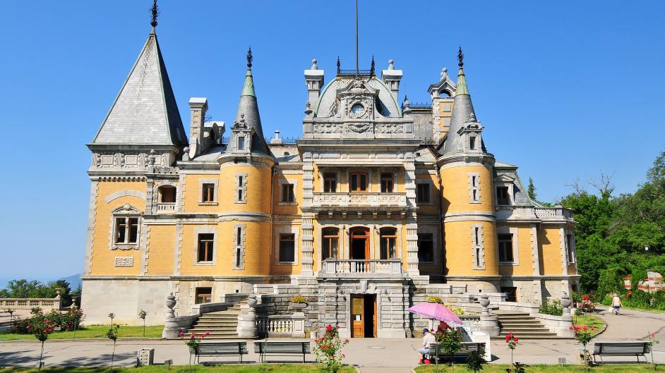 Массандровский дворец как добраться