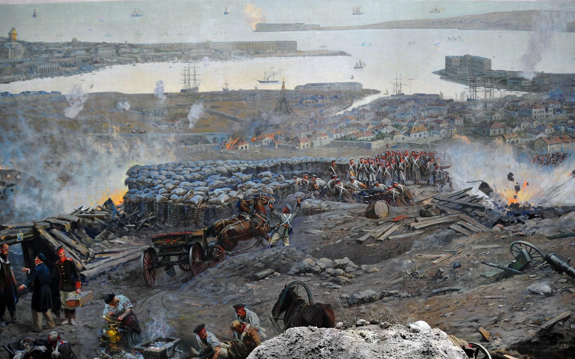 Оборона севастополя панорама фото