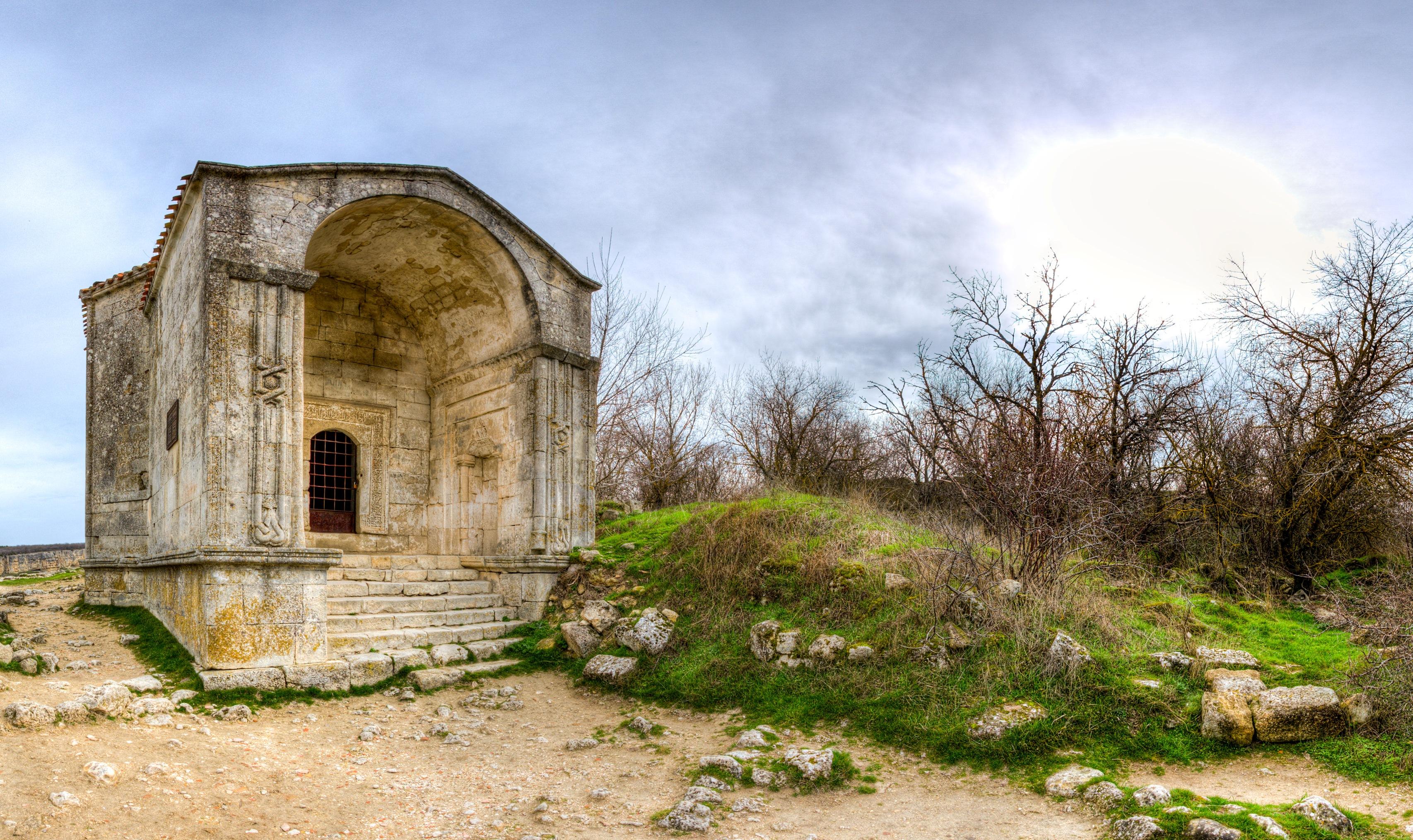 пещерный город крепость чуфут кале