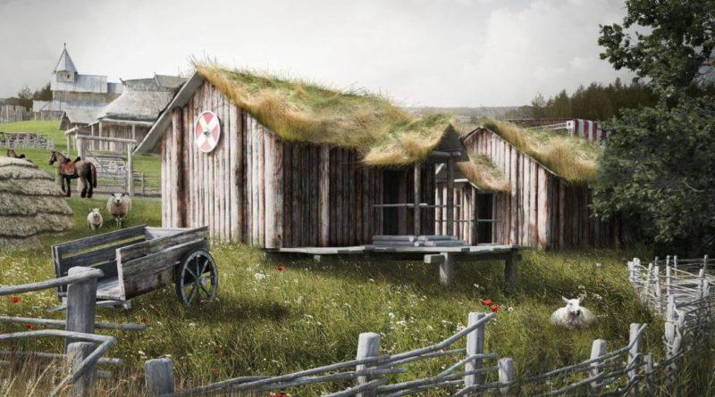 парке викингов в крыму
