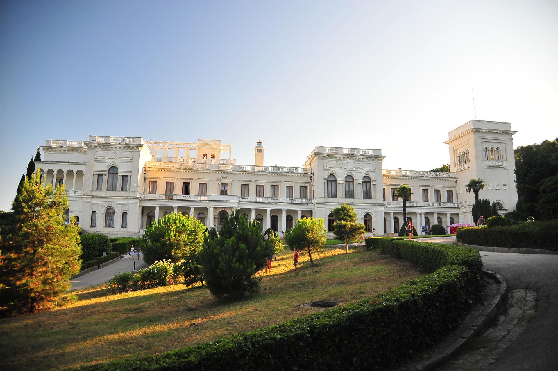 ялта ливадийский дворец