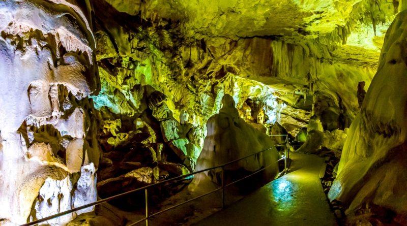 мраморная пещера крым
