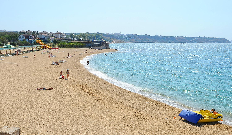 песчаные пляжи крым
