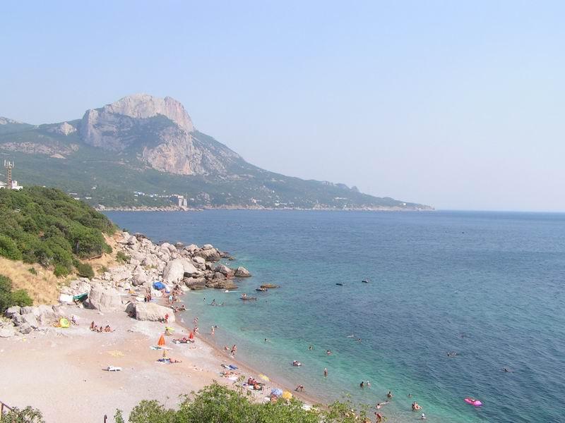 песчаные пляжи крыму