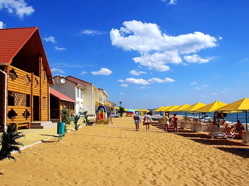песчаным пляжам крым