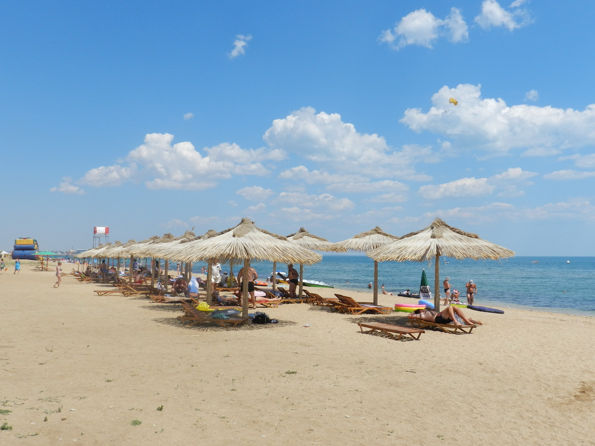 12 лучших песчаных пляжей крыма