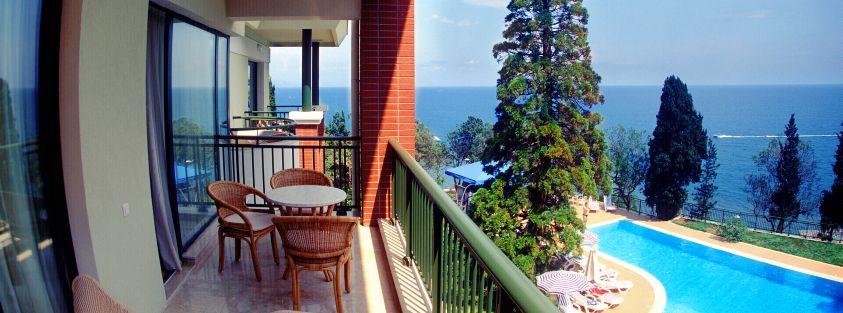 отелем море крыму