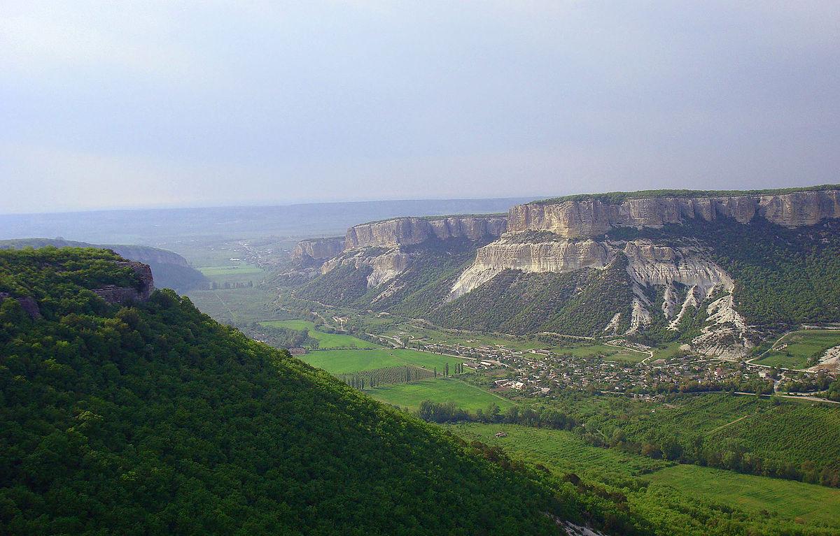 бельбекский каньоне памятнике природы
