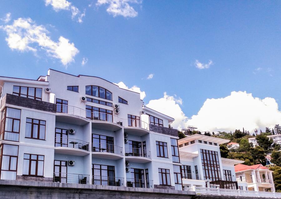 отель сосновая роща в Крыму