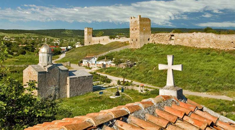 генуэзская крепость кафа феодосия