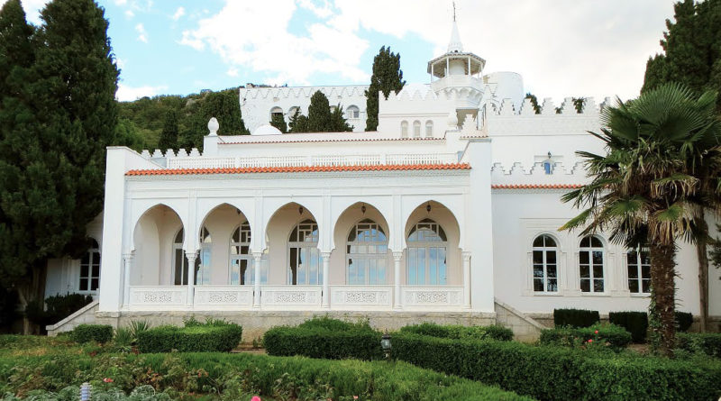 дворец кичкинэ крым
