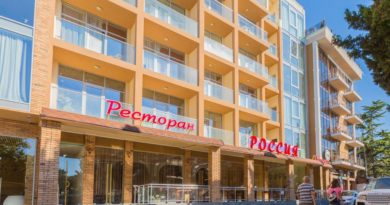 Отель Россия в Алуште: современный отдых в Крыму