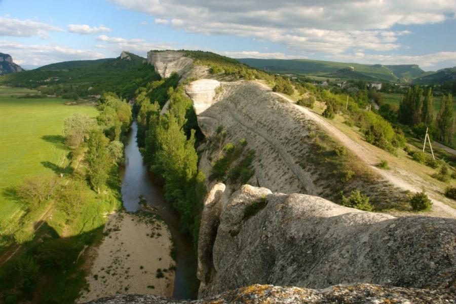 гора крокодил бахчисарай