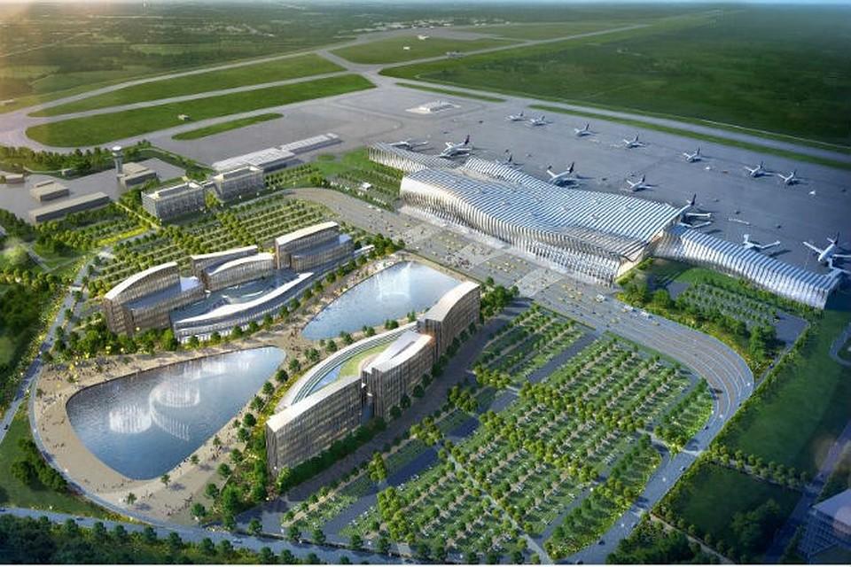 новый аэропорт симферополь фото