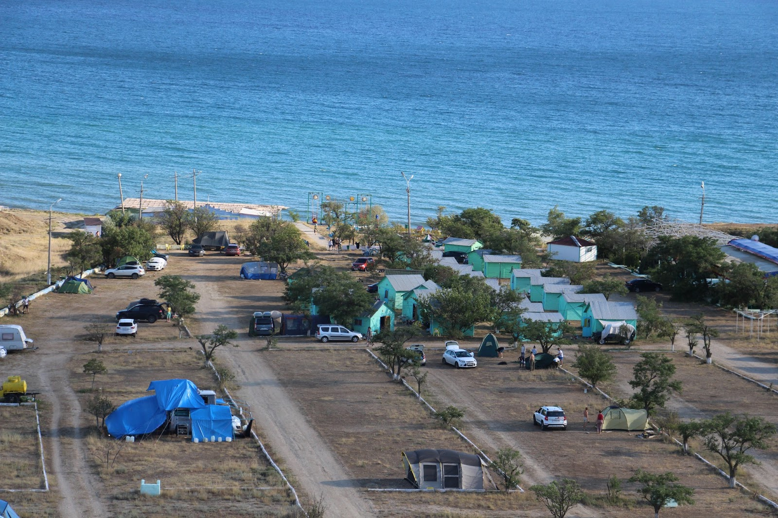 крым кемпинги на берегу моря отдых