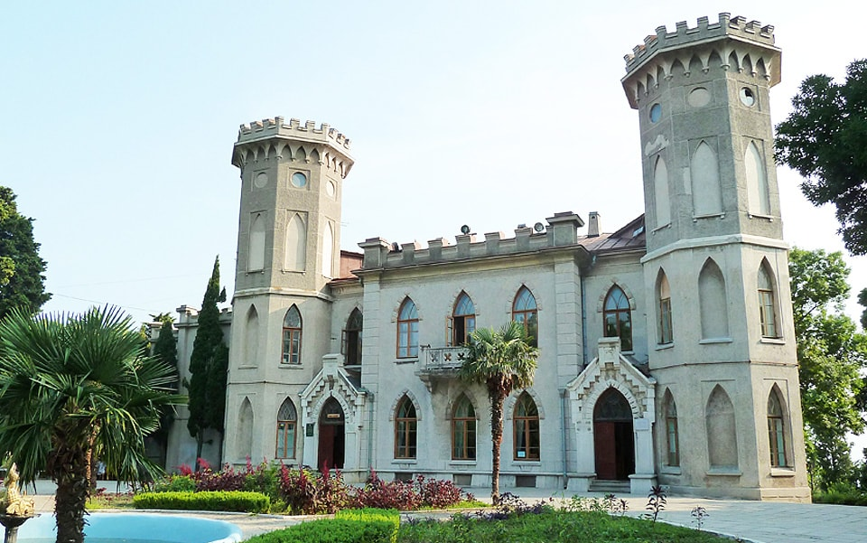 дворец в гаспре