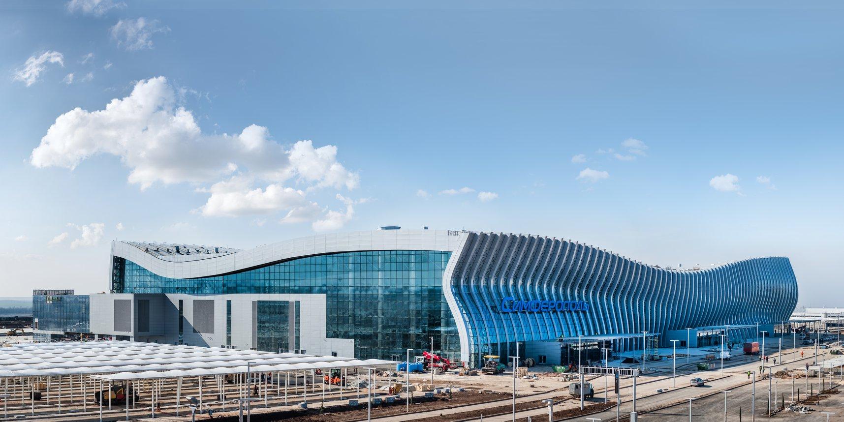 новый терминал аэропорта симферополь на карте