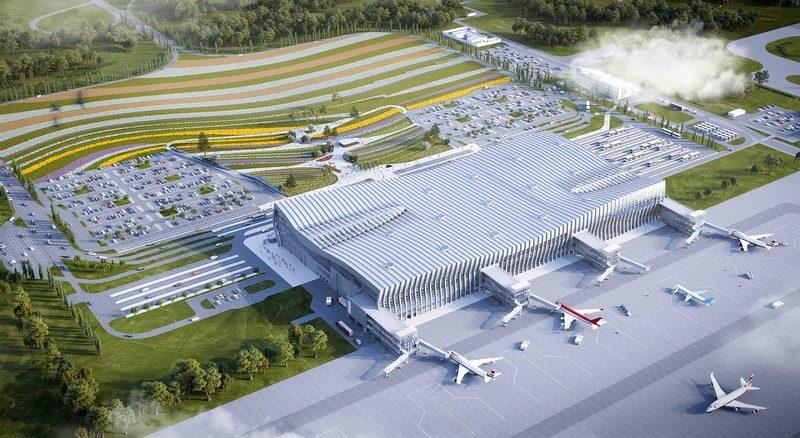 Фото нового аэропорта Симферополь