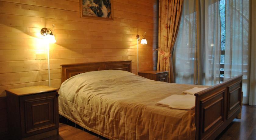 эко отель поляна сказок
