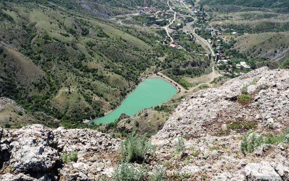 урочище панагия горное озеро в зеленогорье крым