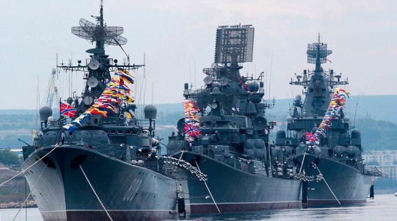 День ВМФ 2018 в Севастополе