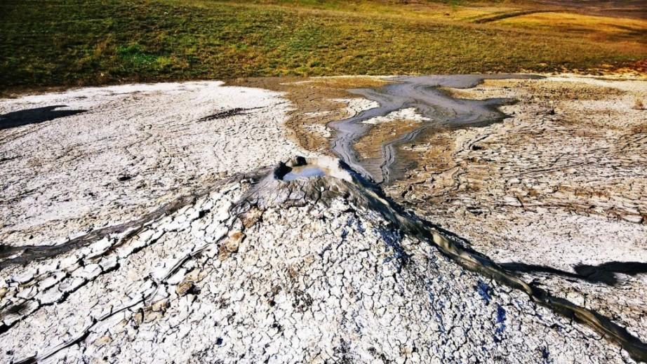 грязевые вулканы в керчи