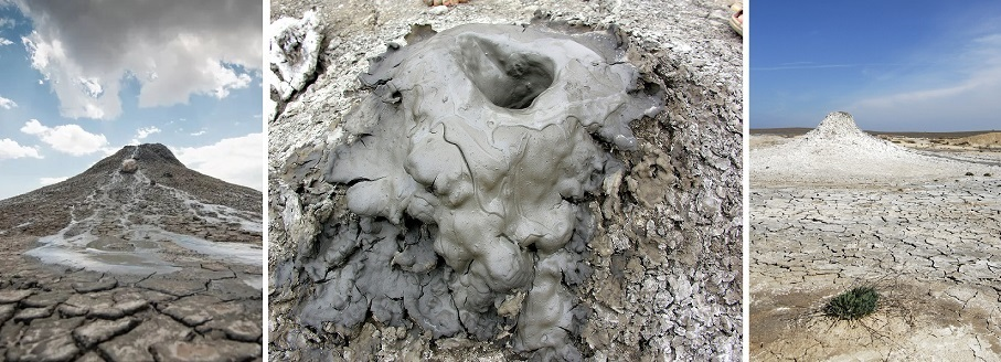 долина грязевых вулканов в керчи