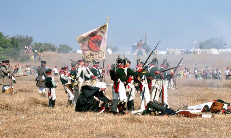 Крымский военно-исторический фестиваль на Федюхиных высотах