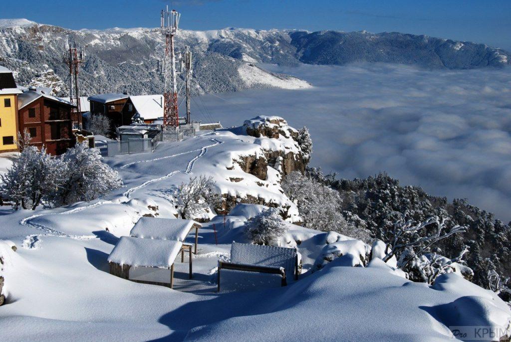 отдых в горах крыма зимой