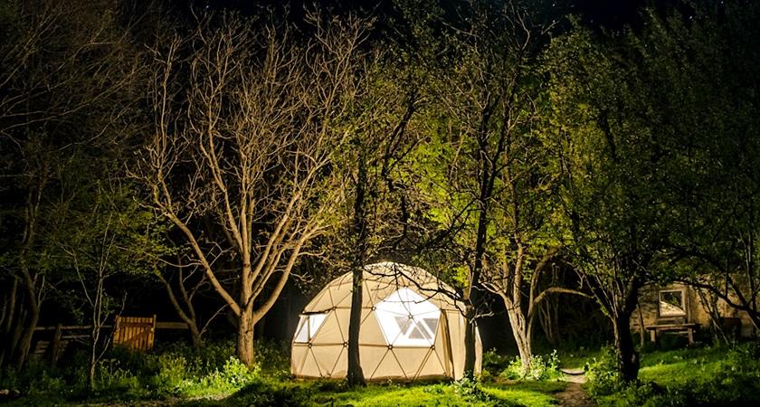 Эко палаточный лагерь