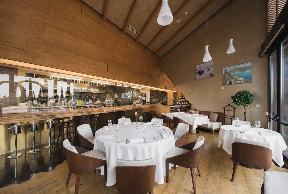 Ресторан L'Olivo в отеле Мрия