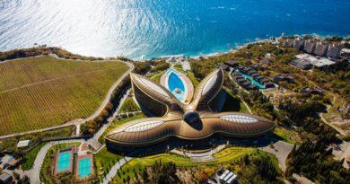 «Mriya Resort & SPA» — крымский отель, признанный лучшим в мире