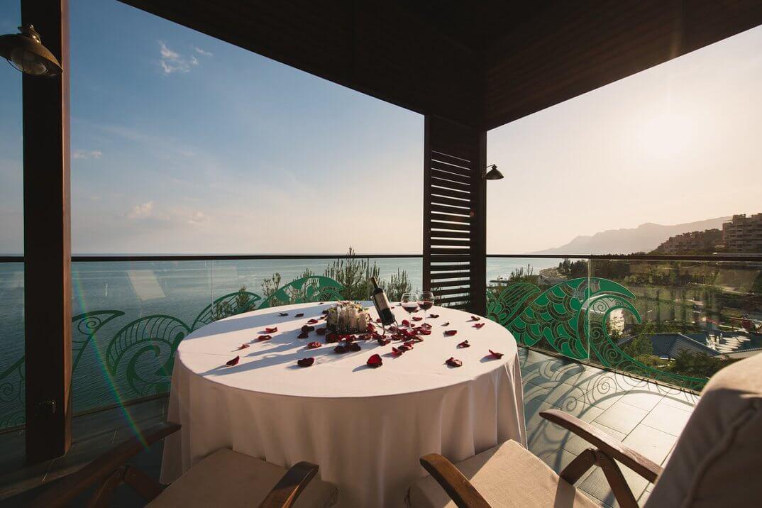 Ресторан Epicure в Mriya Resort