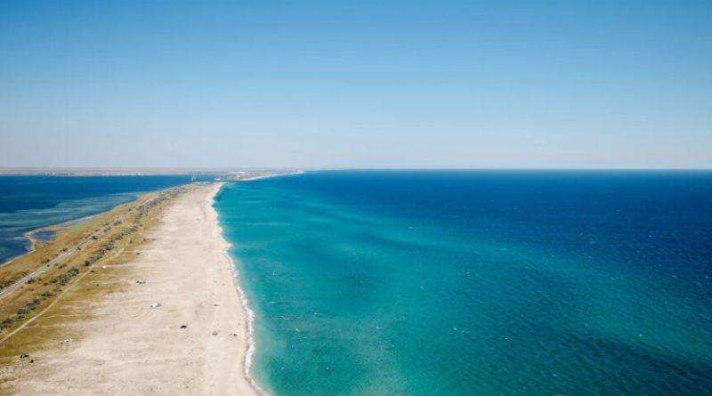 Песчаные пляжи Крыма. Беляус