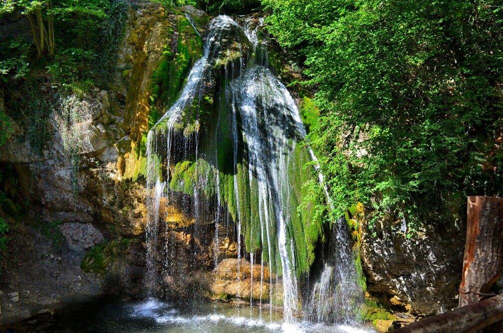 водопад джур джур в крыму фото