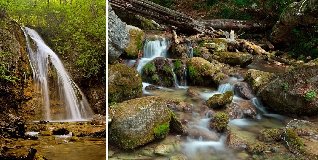 где водопад джур джур