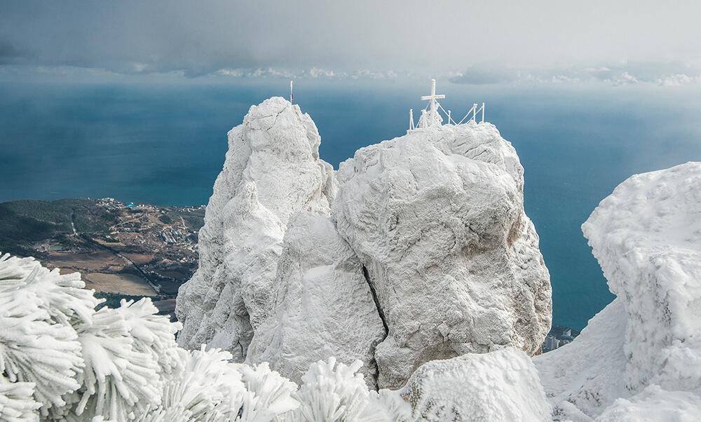 высота горы ай петри